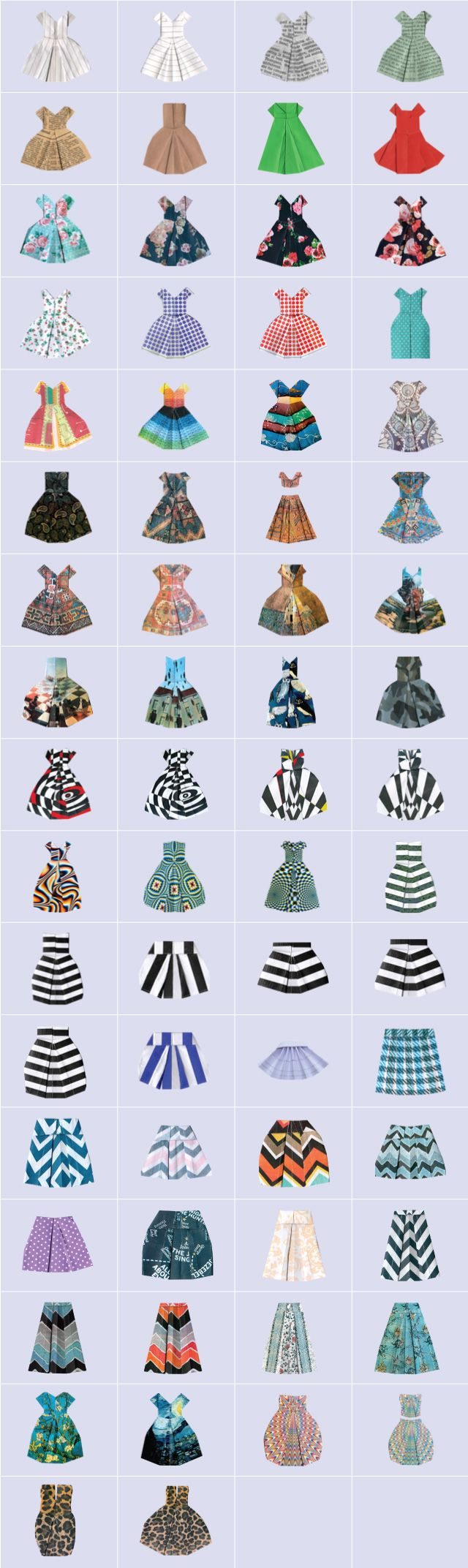 free paper dress up clipart