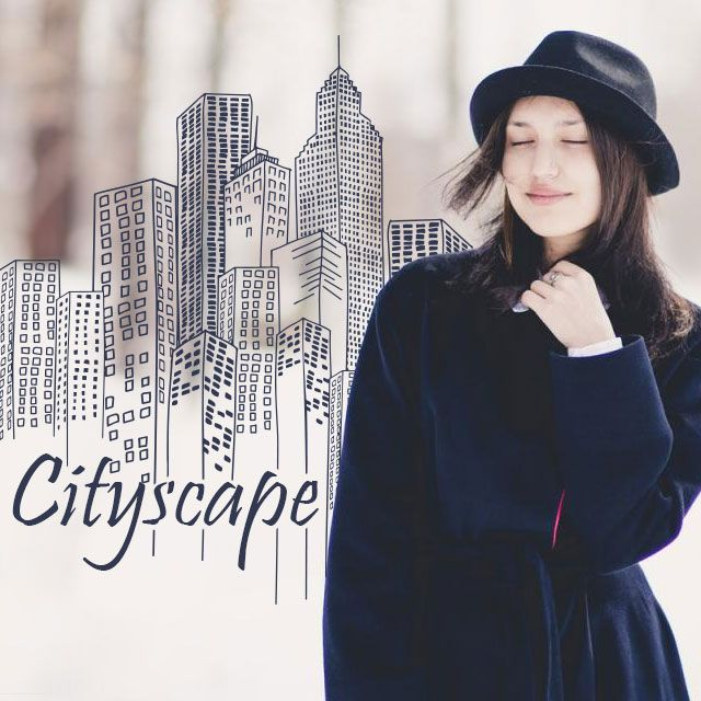 cityscape clipart and stickers