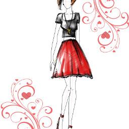 design art designart fashion girl
