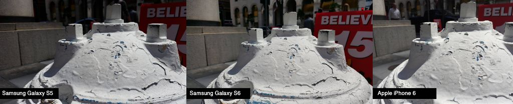 outdoor firehydrant GAlaxy S5 VS S6
