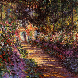 art france nature garden claudemonet