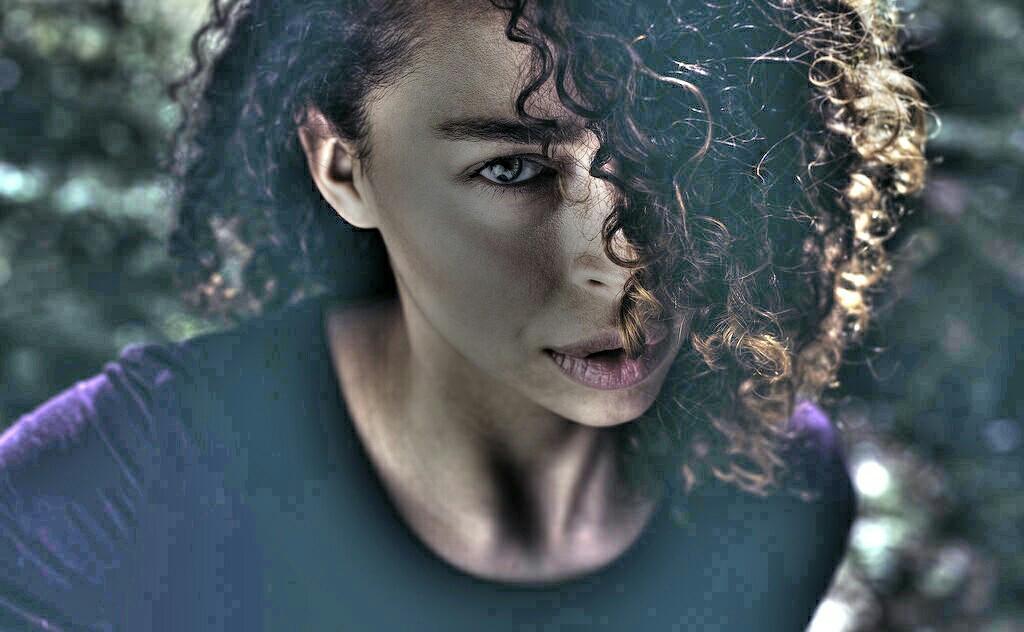 Mulher #cabelos # crepos #perfil forte