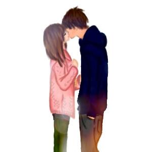 #drawing #kiss #kiss #couple #love #sweet