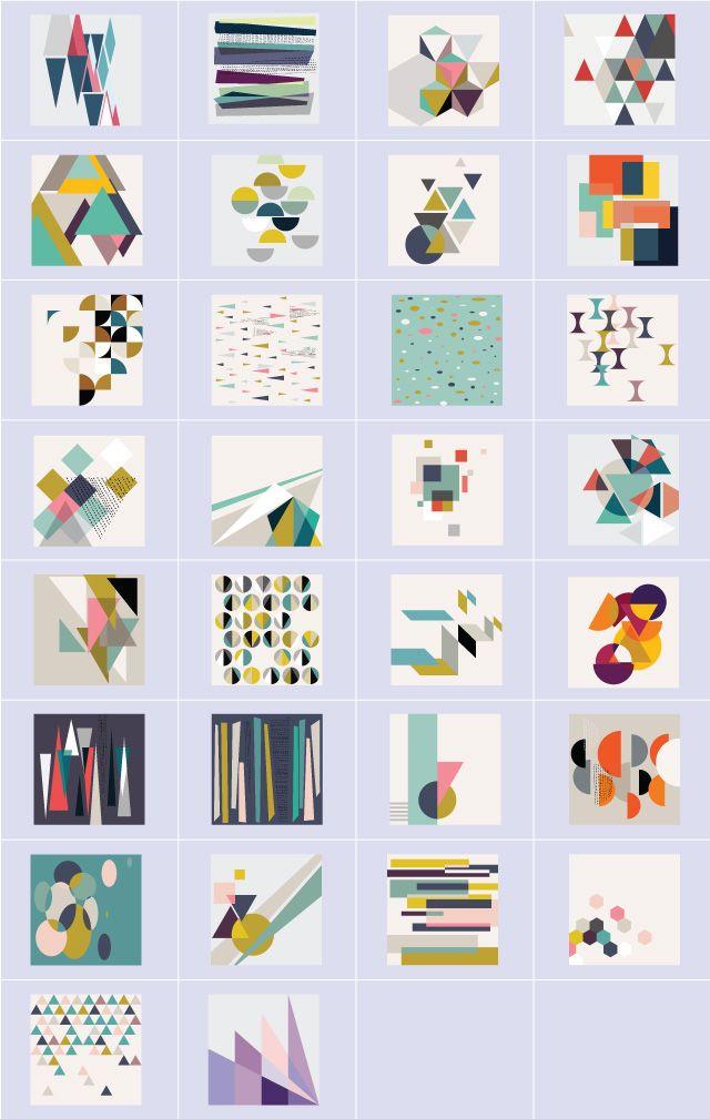 geometric figures clipart