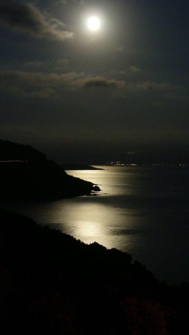 #dam  #moon  #night  #captured  #photography Sadde manjil - iran