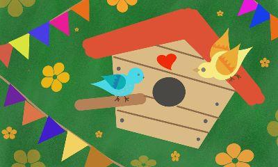 dcbirdhouse drawing birdhouse birds