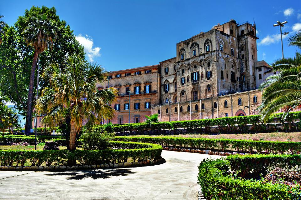 Palazzo dei Normanni. Palermo