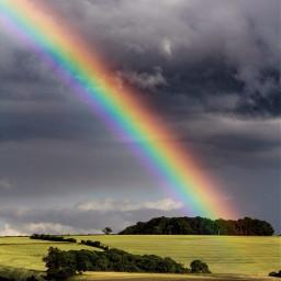 sun rain rainbow somersetengland filltheframe
