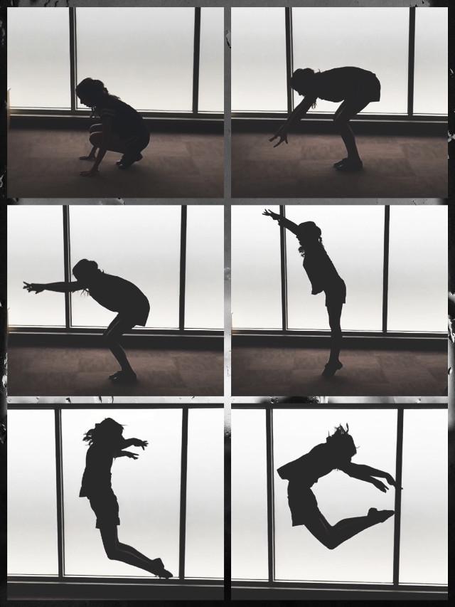 C jump #jump  #dance  #art  #silhouette   #black&white #pcdancing #dancing