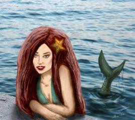 dcdrawon drawing mermaid