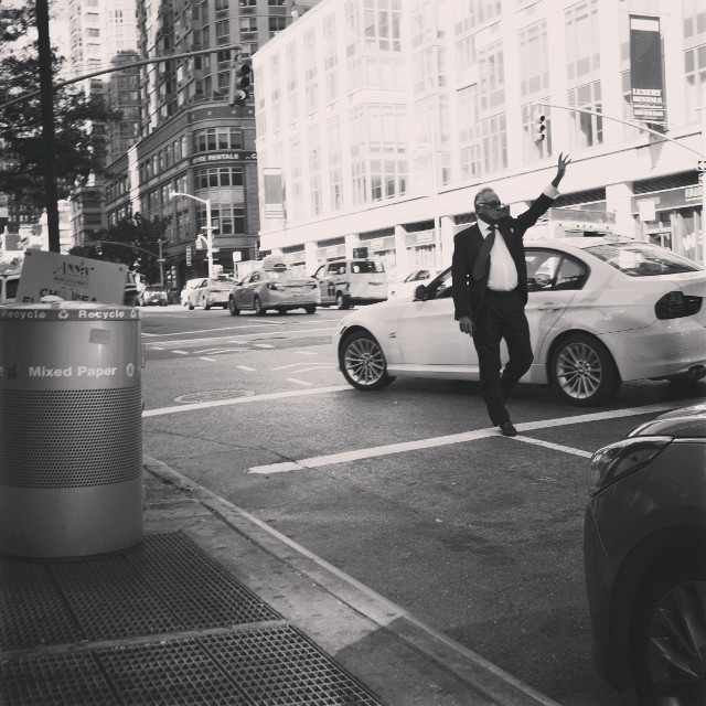 #blackandwhite #streetphotography #newyork #manhattan #grittystreets #man #nyc #fuji #people #photography #sunglasses #travel #summer #cars