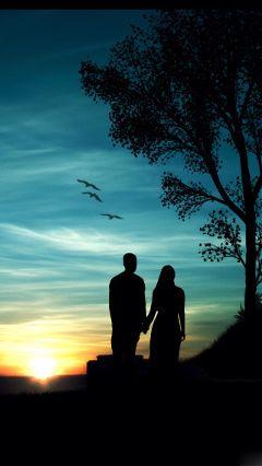 coolbackground romantic blue