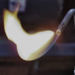 motion photography flame