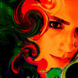 freetoedit abstract art swirled dcstilllife wapstretch wapdrawportrait colorful painting picsartools
