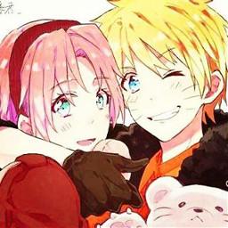 naruto sakura narusaku love cute