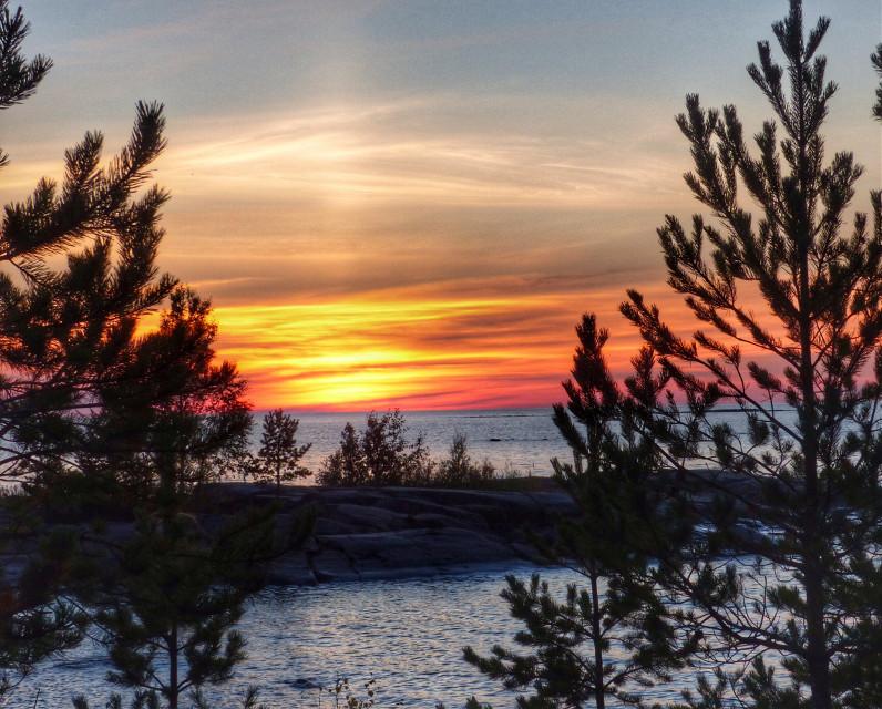 #sunset  #sea  #sky  #nature  #photography