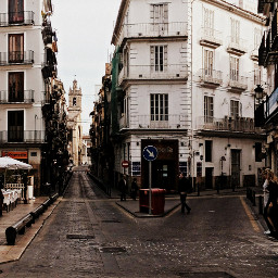 valencia city hdr emotions colorsplash